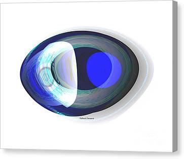 Crystal Eye Canvas Print by Thibault Toussaint
