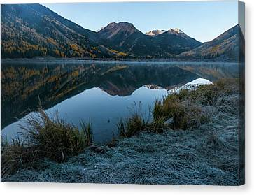 Crystal Lake - 0565 Canvas Print