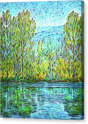Crystal Lake Enchantment Canvas Print
