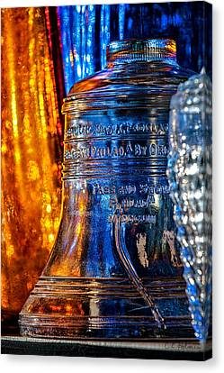 Crystal Liberty Bell Canvas Print by Christopher Holmes