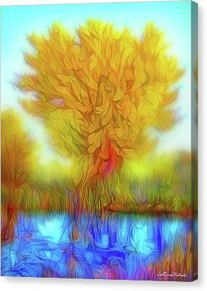 Crystal Pond Dream Canvas Print