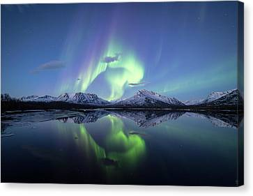 Crystal Reflections Canvas Print by Damon Beckford