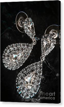Crystal Rhinestone Jewellery Canvas Print by Jorgo Photography - Wall Art Gallery