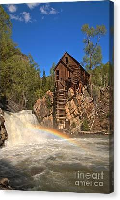 Crystal River Rainbow Canvas Print by Adam Jewell