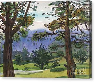 Crystal Springs Fairway Canvas Print by Donald Maier
