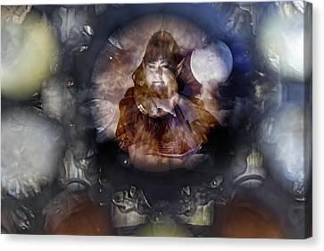 Crystal Vision Canvas Print by Sharon Popek