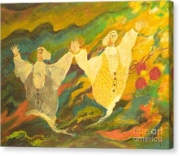 Csardas Canvas Print