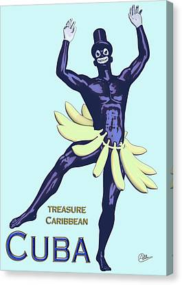 Cuba  Canvas Print by Quim Abella