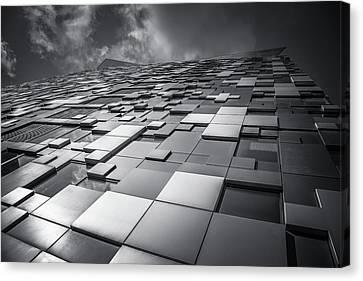 Cubed Canvas Print by Chris Fletcher
