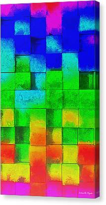 Cubism 2 - Da Canvas Print by Leonardo Digenio