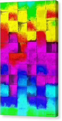 Cubism 3 - Da Canvas Print by Leonardo Digenio