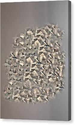 Canvas Print featuring the photograph Cubism by Angel Jesus De la Fuente