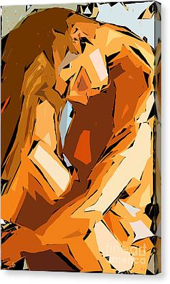 Cubism Series Ix Canvas Print by Rafael Salazar
