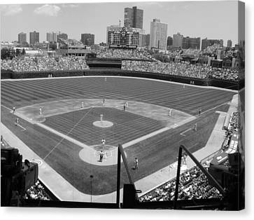 Cubs Game...2009 Canvas Print