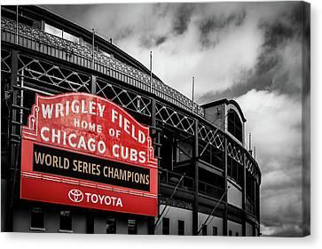 Cubs Win Cubs Win Canvas Print