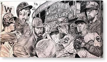 Cubs World Series Canvas Print
