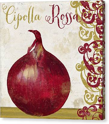 Cucina Italiana Onion Canvas Print