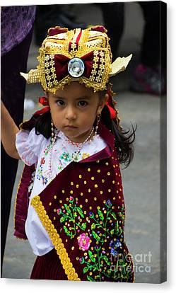 Cuenca Kids 756 Canvas Print by Al Bourassa