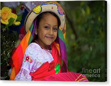 Cuenca Kids 865 Canvas Print by Al Bourassa