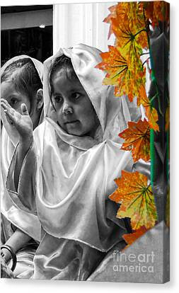 Cuenca Kids 885 Canvas Print by Al Bourassa