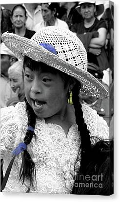 Cuenca Kids 904 Canvas Print by Al Bourassa