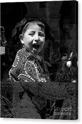 Cuenca Kids 954 Canvas Print by Al Bourassa