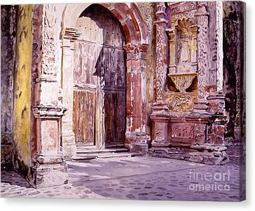 Cuernavaca Cathedral Canvas Print
