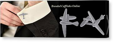 Cufflinks Online At Shaze Canvas Print by Jessica
