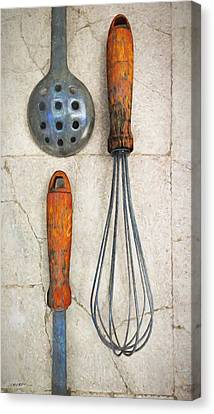 Culinary II Canvas Print by Cynthia Decker