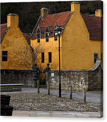 Canvas Print featuring the photograph Culross by Jeremy Lavender Photography