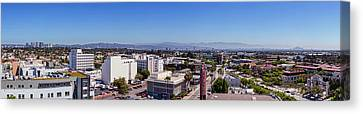Culver City East Canvas Print by Kelley King