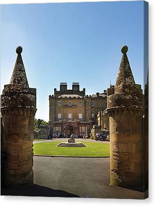 Scotland Canvas Print - Culzean Castle Scottish Landscapes And Castles by Alex Saunders