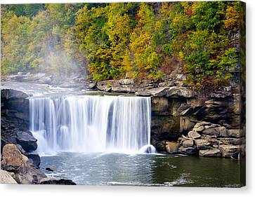 Cumberland Falls Canvas Print by Alexey Stiop