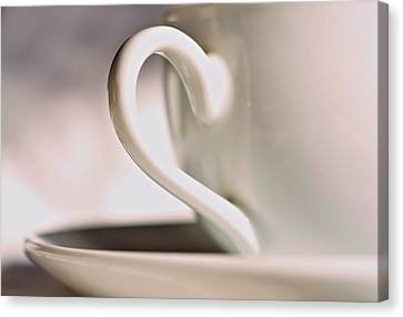Cup And Saucer Canvas Print