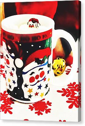Cup Of Cheer Canvas Print