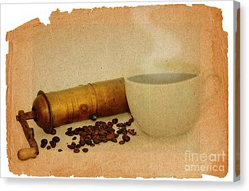 Cup Of Coffee Canvas Print by Michal Boubin