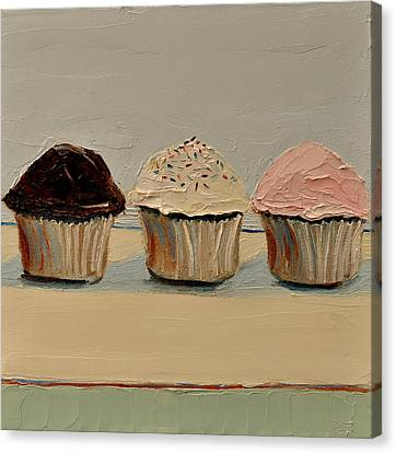 Cupcake Canvas Print by Lindsay Frost