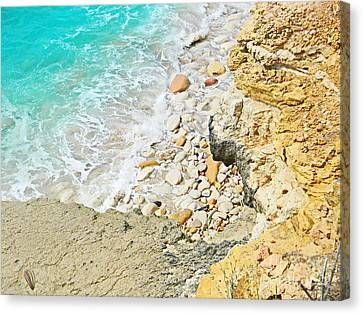 The Sea Below Canvas Print