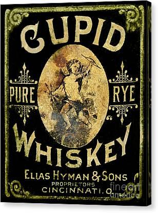 Celebrate Canvas Print - Cupid Whiskey by Jon Neidert