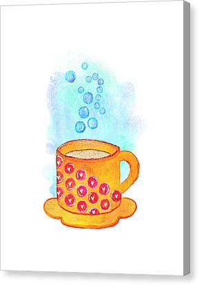 Cuppa Series - Latte Canvas Print
