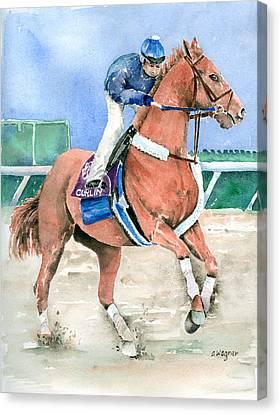 Curlin Canvas Print