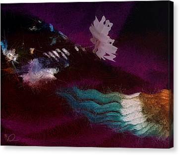 Currents Canvas Print by David Derr