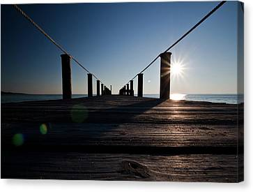 Currituck Sunset Canvas Print by David Sutton