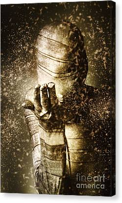 Curse Of The Mummy Canvas Print