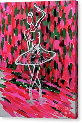Curtain Call Canvas Print by Jilian Cramb - AMothersFineArt