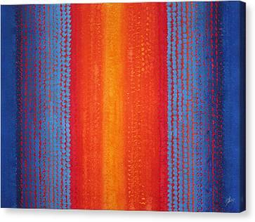 Curtain Call Original Painting Canvas Print