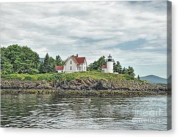 Curtis Island Light Canvas Print