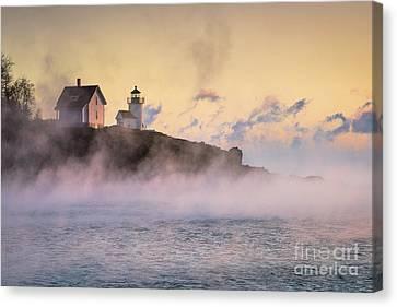 Curtis Island Sea Smoke Canvas Print