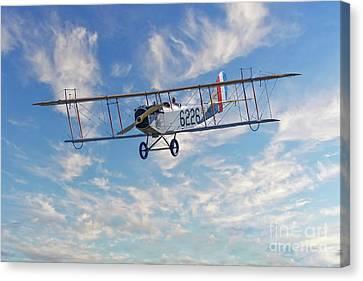 Curtiss Jn-4h Biplane Canvas Print