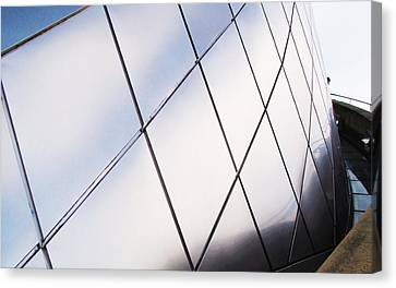 Curve Of The Cone Canvas Print by Martin Cline